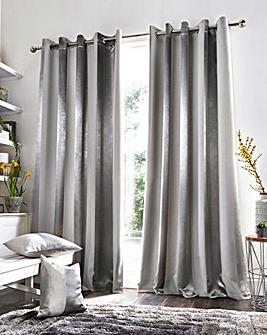 Petra Stripe Woven Blockout Curtains