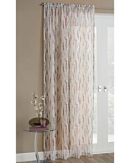 Willow Printed Voile Panel