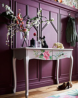 Joe Browns Floral Console Table