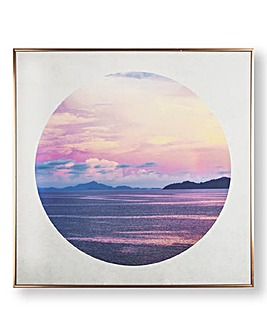 Graham & Brown Sunset Framed Canvas