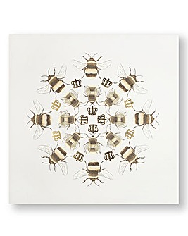 Graham & Brown Bumble Bee Printed Canvas