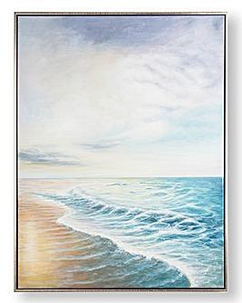 Graham & Brown Shores Framed Canvas