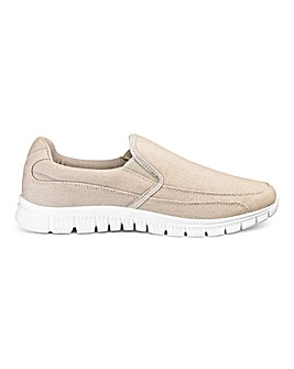 Cushion Walk Lightweight Canvas Slip Ons