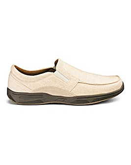 Canvas Slip On Shoes Standard Fit