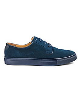 Jacamo Suede Lace Up Shoes Narrow Fit