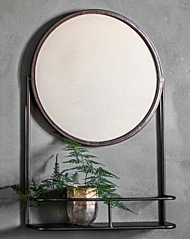 Emerson Mirror with Shelf