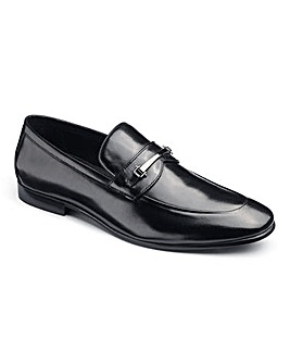 Dune Black Pistol Loafer