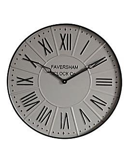 Burnett Clock Mirage Grey 60cm