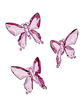 Set of 3 Decorative Acrylic Butterflies