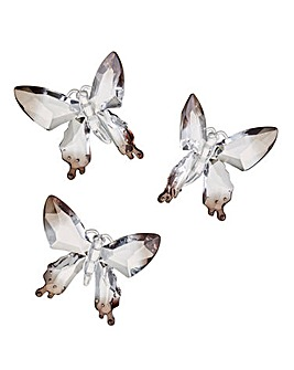Set of 3 Large Decorative Butterflies