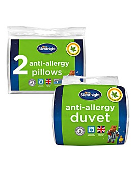 Silentnight Anti Allergy 10.5 Duvet Set