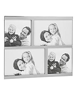 Polished Silver Collage 4 Frame