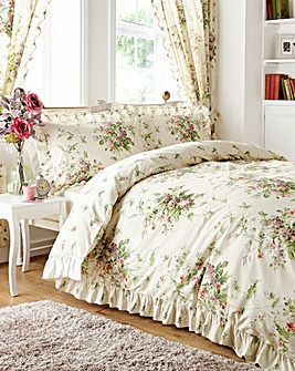 Vantona Madeline Cream Duvet Cover Set