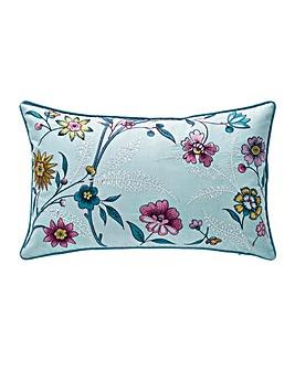 V&A Botanica Aqua Boudoir Cushion