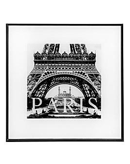 Paris Square Monochrome Picture