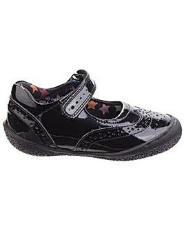 Hush Puppies Rina Patent Velcro Shoe