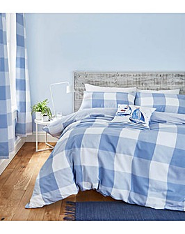 Catherine Lansfield Boston Check Duvet