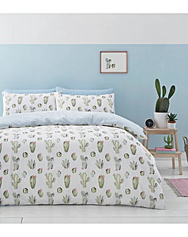 Catherine Lansfield Cactus Duvet Set