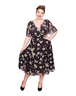Scarlett & Jo Marilyn Float Midi Dress