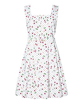 Yumi Curves Cherry Conversational Dress