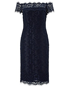 Monsoon Bronwyn Bardot Lace Dress