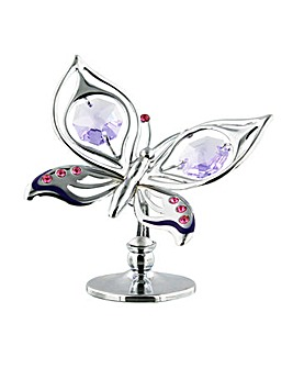 Crystocraft Orchid Butterfly