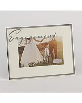 Amore Silverplated Engagement Frame