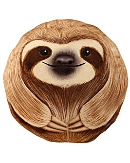 Plush Sloth Cushion