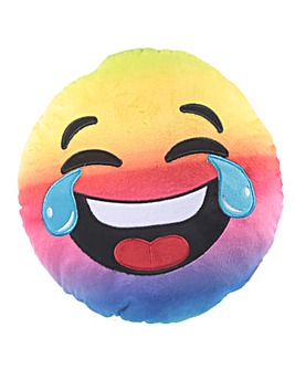 Rainbow Laughing Emotive Cushion