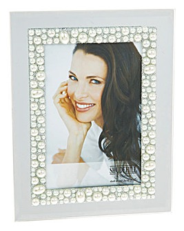 Sparkle Pearl Photo Frame 6 x 4cm