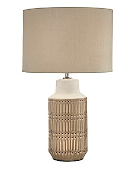 Glacier Ceramic Table Lamp