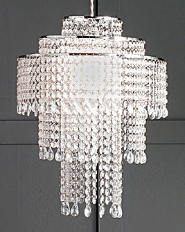Quincy Acrylic Beaded Chandelier