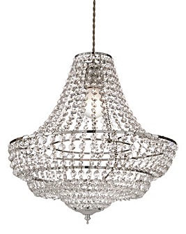 Antonette Acrylic Beaded Chandelier