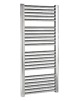 Straight Ladder Heated Towel Rail Chrome
