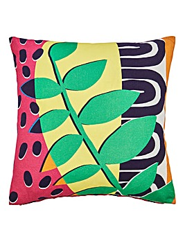 Retro Leaf Bold Cushion