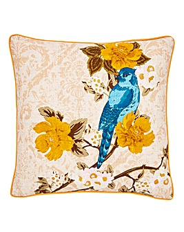 Vintage Blue Bird Cushion