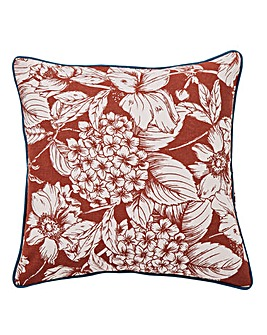 Sketched Floral Cushion