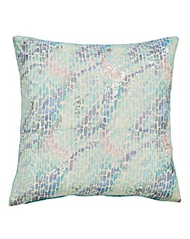 Iridescent Foil Cushion