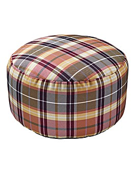 Joe Browns Check Print Bean Bag