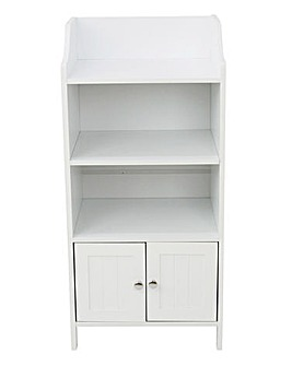 New England 3 Shelf and Door Unit