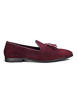 Suede Tassle Loafers Standard