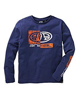 Animal Boys Board Long Sleeve T-Shirt