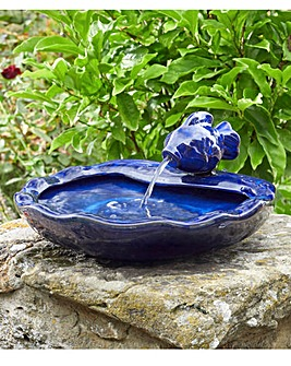 Ceramic Fish Water Fountain