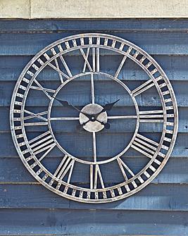 """23"""" Buxton Garden Clock"""