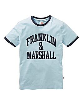 Franklin & Marshall Boys Ringer T-Shirt