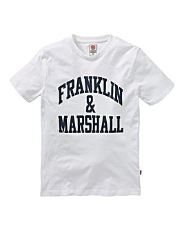 Franklin & Marshall Boys Logo T-Shirt