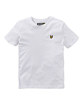 Lyle & Scott Boys White S/S T-Shirt
