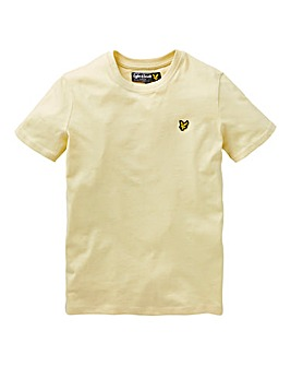 Lyle & Scott Boys Yellow S/S T-Shirt