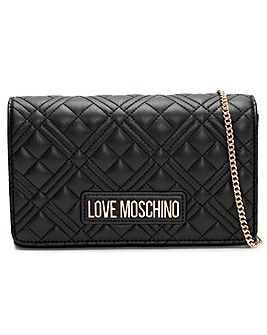Love Moschino Diamond Quilt Cross-Body