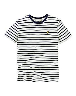 Lyle & Scott Boys S/S Stripe T-Shirt